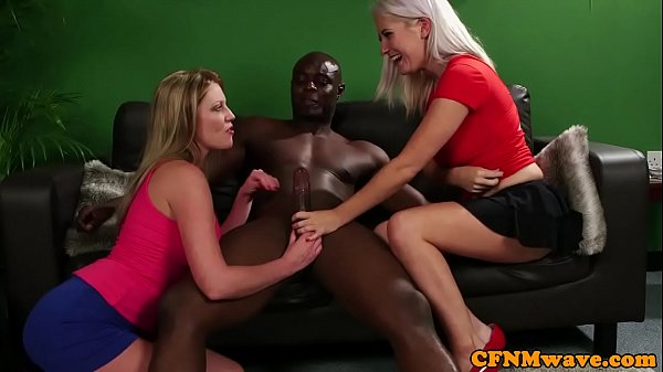 Interracial, Trio, Ffm threesome