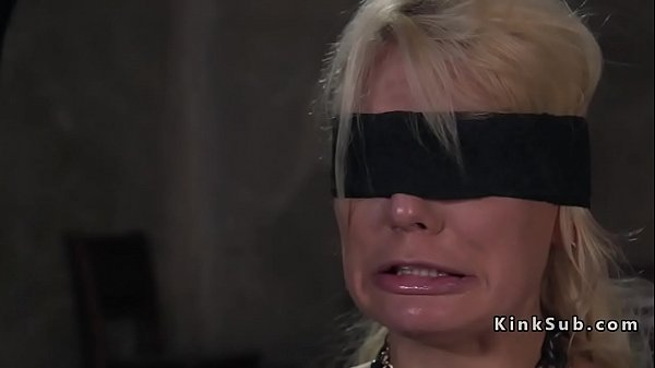 Blonde, Pain anal, Pain, Rough anal, Blindfolded, Anal pain