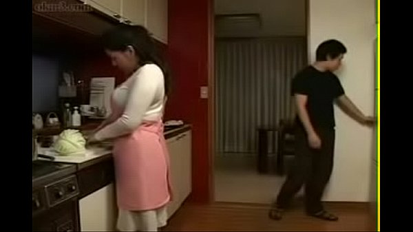 Japanese mom, Young boy, Boy milf, Mom in kitchen, Japan mom