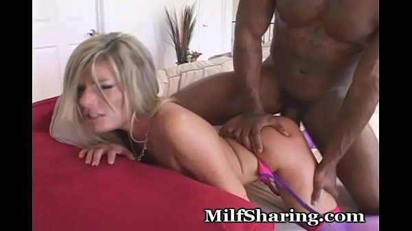 Interracial, Mom lingerie