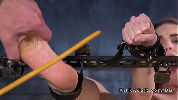 Pain, Painful, Hairy fuck, Caning