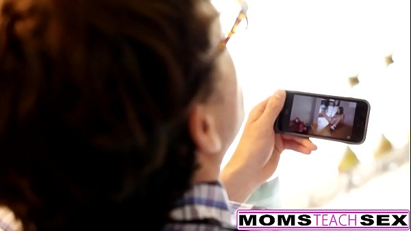 Mom and son, Cheating, Mom caught son, Hot mom, Hot blonde, Cheating mom