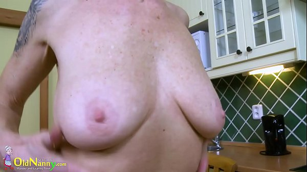 Granny masturbation, Mature solo, Mom in kitchen, Kitchen, Granny solo, Grannies