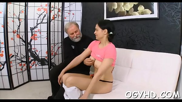 Old and young, Old young, Old vs young, Blowjob amateur